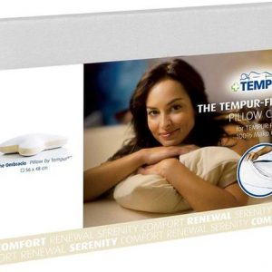 Tempur kussensloop voor Sonata hoofdkussen wit