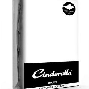 Cinderella Splittopper hoeslaken katoen voor matrastoppers