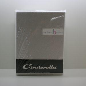 Cinderella badstof hoeslaken wit voor matrassen