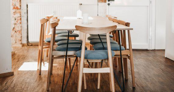 De eettafel als centrale plek in huis
