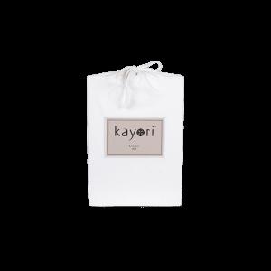 Kayori Kyoto splittopper hoeslaken wit